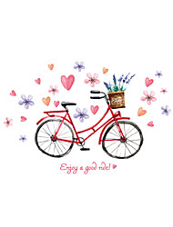 Wall Stickers Wall Decals Style Bicycle PVC Wall Stickers