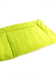 Dog Bed Pet Mats & Pads Portable Green Fabric