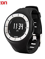 Ezon t028b01 esportes ao ar livre relógios relógio digital de calorias contador pedômetro para as mulheres