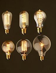ретро старинные E27 художественный лампы накаливания лампы накаливания 40w промышленное