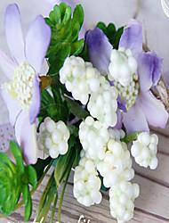 """Bouquets de Noiva Forma-Livre Alfinetes de Lapela Casamento Festa / noite Flôr Seca 6.3""""(Aprox.16cm)"""