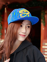 Fashion Men And Women Glasses Street Dance Hips Hip-Hop Hats Summer Couple Baseball Cap Flat-Hat