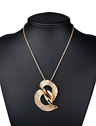 Necklace Non Stone Pendant Necklaces Jewelry Birthday Party Daily Casual Christmas Gifts Geometric Unique Design Fashion Alloy Women 1pc