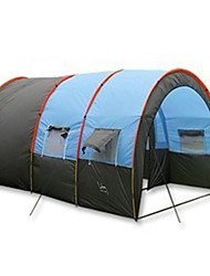 5-8 persons Tent Tunnel Tent Single Camping Tent Family Camping Tents Waterproof Portable Windproof Rain-Proof Dust Proof Anti-Insect