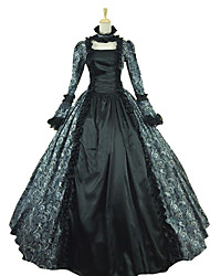 Steampunk®Victorian Renaissance Fair Dress Ball Gown Queen Theatrical Costume