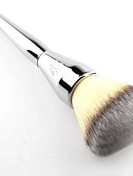 1Pcs Very Big Beauty Powder Brush Blush Foundation Round Make Up Tool Large Cosmetics Aluminum Brushes Soft Face Makeup