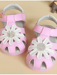 Girl's Sandals Comfort Leather Outdoor Casual Athletic Pink White Running