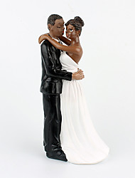 New Style Life Long  Black Couple Decoration