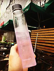 nouveauté transparente à aller drinkware extérieur, 310 ml étanche verre de jus de nouveauté de l'eau drinkware tumbler