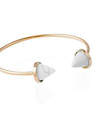 Bracelet Bracelets Rigides Alliage Turquoise Autres Bohemia style Style Punk Inspiration Hip-Hop Mariage Soirée Bijoux Cadeau Blanc Vert,