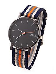 Sports Canvas Strap Fashion Leisure Quartz Watches