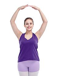 Ballet Tops Women's Children's Training Cotton Lycra Criss-Cross 1 Piece Top