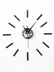 DIY Modern Creative Mystery Owl Mute Wall Clock
