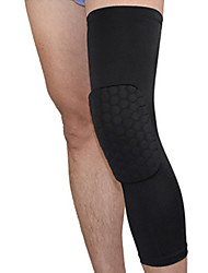 Attelle de Genou pour Basket-ball Fitness Badminton Course Unisexe Professionnel Ajustable Respirable Compression ExtensibleDes sports