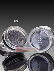 Lidschattenpalette Trocken Lidschatten-Palette Puder Normal Alltag Make-up Halloween Make-up Feen Makeup Cateye Makeup Smokey Makeup