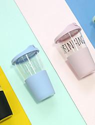 Sportif Transparente Articles pour boire,550 Portable Athermiques Verre Polypropylène Eau Café Tumbler