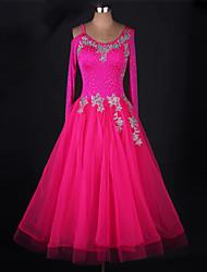 Мы будем бальные платья для танцев женщин платье из шиньонской органзы