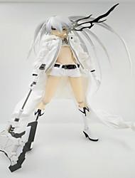 Anime Action-Figuren Inspiriert von Cosplay Black Rock Shooter PVC 28 CM Modell Spielzeug Puppe Spielzeug