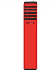 TAKSTAR Com Fios Microfone de Karaoke 3.5mm Vermelho