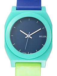 Colorful Candy Jelly Fashion Trend Student Quartz Watch