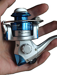Fishing Reel Spinning Reels 2.6:1 1 Ball Bearings Exchangable General Fishing-GX100