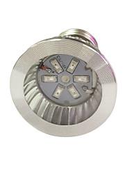 3W E14 GU10 E27 Lampes Horticoles LED 6 SMD 5730 96-112 lm Rouge Bleu V 1 pièce