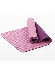 TPE Yoga-Matten Umweltfreundlich Geruchsfrei 6 mm Lila Other