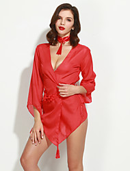 Women's Sexy Gauze Open Transparent Appeal Robe