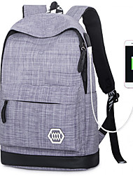Sports Casual Outdoor Backpack Unisex Oxford Cloth Blue Gray Black