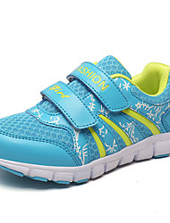 Fille-Décontracté Sport-Bleu Rose Rouge-Talon Plat-Confort-Chaussures d'Athlétisme-Polyuréthane