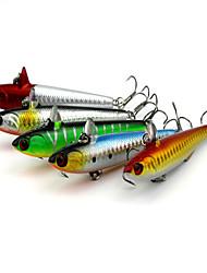 5 Stück Harte Fischköder Zufällige Farben 14.51g g Unze mm Zoll,Fester Kunststoff Spinnfischen