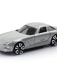 Race Car Toys 1:64 Metal Plastic Silver