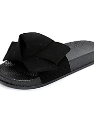 Women's Slippers & Flip-Flops Spring Summer Comfort PU Casual Low Heel Others Black Green Red Other