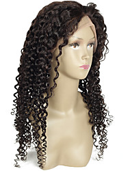 Brazilian Lace Wigs Virgin Hair Full Lace Wig Curly Wig Glueless Full Lace Human Hair Wigs With Baby Hair Bleached Knots