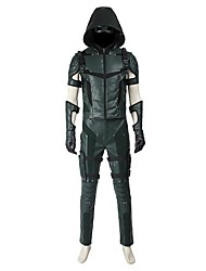 Cosplay Costumes Halloween Props Party Costume Masquerade Super Heroes Cosplay Movie Cosplay Black HollowCoat Top Pants Gloves Boots More