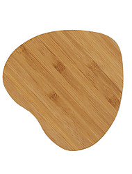 Heart-shaped Bamboo Qi Wireless Charger Charging Pad For Samsung Galaxy S6 S6 Edge Plus S7 S7 edge Note 5 Note 7 Elephone P9000