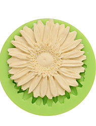 Chrysanthemum Shape Silicone Gumpaste Molds for Pudding Ice Chocolate and Candy