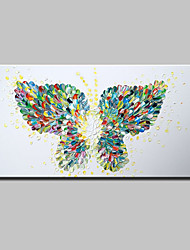 Hand Painted Butterfly Animal Oil Painting On Canvas Modern Abstract Wall Art Pictures For Wall Decoration Ready To Hang