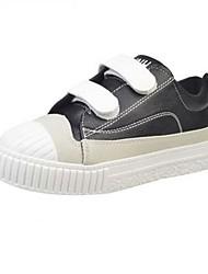 Women's Sneakers Spring Summer Fall Winter Light Soles Microfibre Casual Flat Heel Black Green White