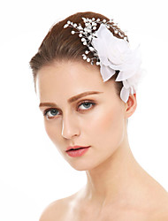 Women's Rhinestone Chiffon Headpiece-Wedding Special Occasion Flowers 1 Piece