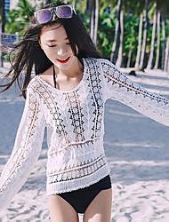 signer maillot manteau appliqué des vêtements de protection blouse de dentelle ajourée cardigan soleil station balnéaire spa