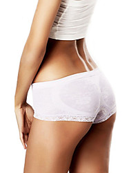 Women Sexy Solid Shaping Panties Briefs  Underwear,Chiffon Polyester