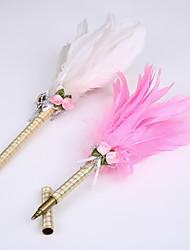 nouveau ruban mariage de plume de signature du parti stylo marqueur stylo à la main pur (recharge d'or)