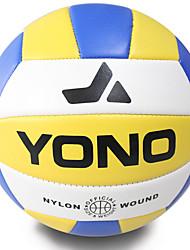 Волейбол(Желтый Белый Синий,ПВХ) -Эластичность Износоустойчивость