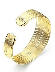 Bangles Cuff Bracelet Friendship Fashion Vintage Bohemian Punk Hip-Hop Adjustable Classic Open Gold Plated Irregular Jewelry For Birthday