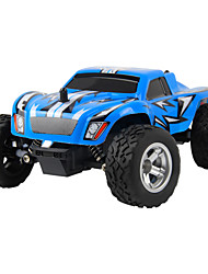 Buggy Truck 1:24 Brush Electric RC Car 2.4G Red Blue Ready-To-Go Remote Control Car Remote Controller/Transmitter