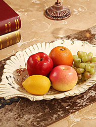 Creative Fruit Bowl Furnishing Articles Fruit Basket Ceramic Desktop Decoration Luxury European Top-Grade Process