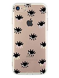 Pour Ultrafine Motif Coque Coque Arrière Coque Carreaux Flexible PUT pour Apple iPhone 7 Plus iPhone 7 iPhone 6s Plus/6 Plus iPhone 6s/6