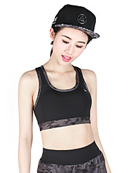 Women's Sleeveless Running Sports Bra Tops Breathable Quick Dry Sports Wear Yoga Exercise & Fitness Running Modal Polyester Tight
