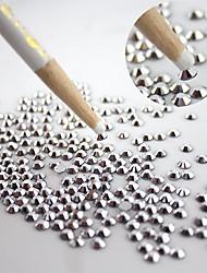 5pcs / set top lápis de madeira pontilham caneta broca ponto profissional para nail art strass pedras escolhendo ferramentas